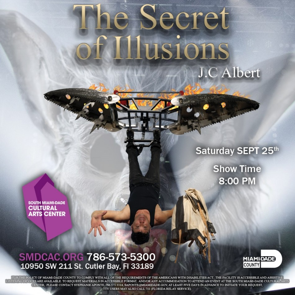 THE SECRET OF ILLUSIONS BY JC ALBERT