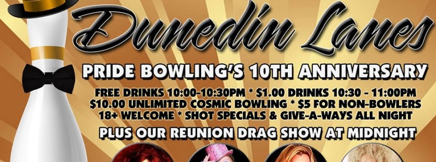 Pride Bowling 10 Year Anniversary Party