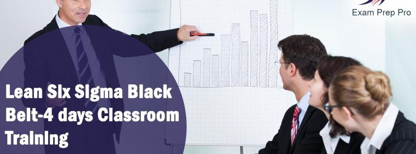 Lean Six Sigma Black Belt-4 days Classroom Training in Louisville,KY