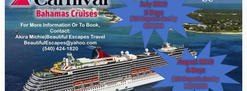 2019 Bahamas Cruises