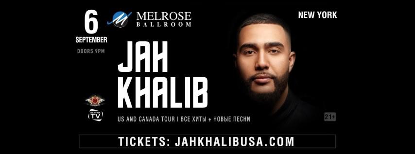 Jah Khalib Concert in New York | Jah Khalib