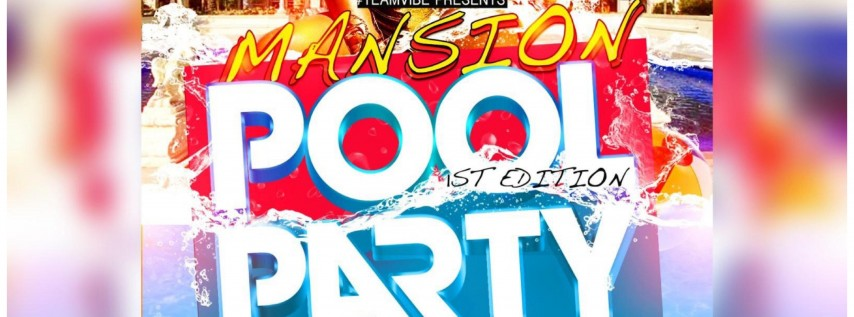 Cool Summer Mansion Pool Party