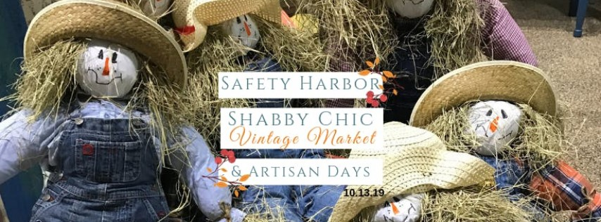 Fall Safety Harbor Shabby Chic Vintage Market & Artisan Day