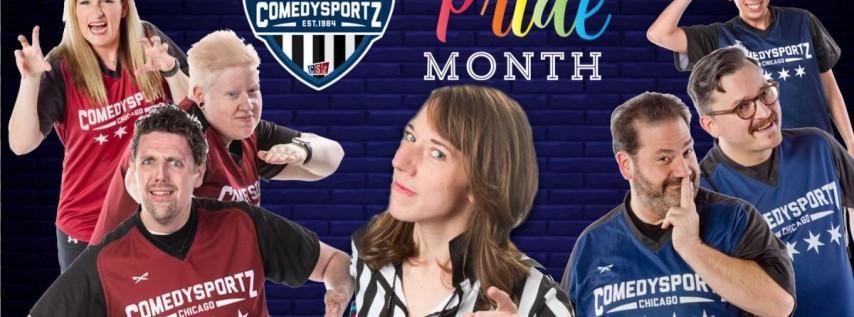 ComedySportz Pride Match