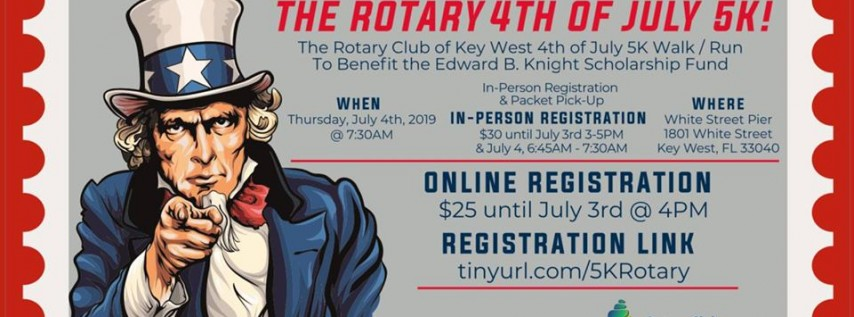 Rotary Club of Key West 4th of July 5K