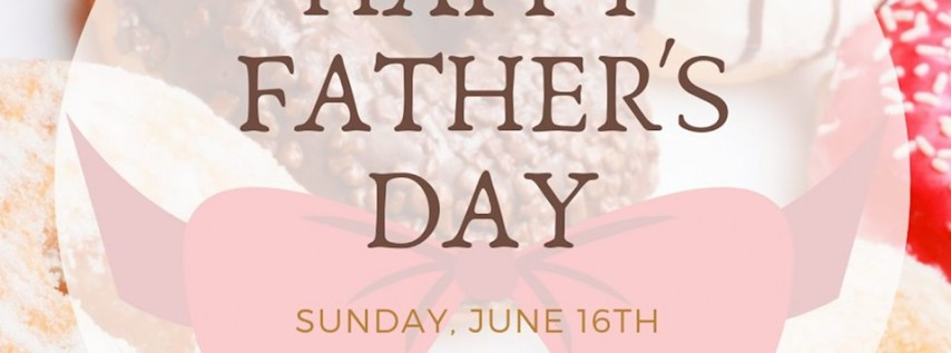 Father's Day - 'Donuts with Dad'
