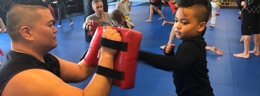 Dad & Me Kickboxing!