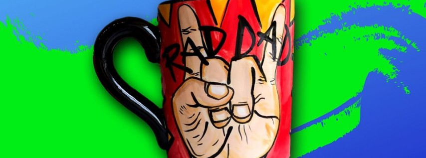 Free Mug for Dad on Father's Day!