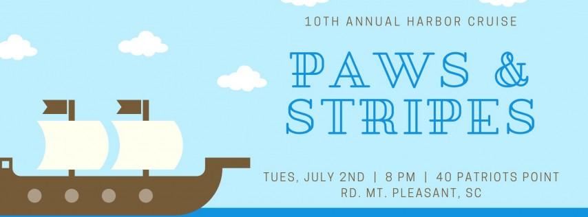 10th Annual Paws & Stripes Harbor Cruise