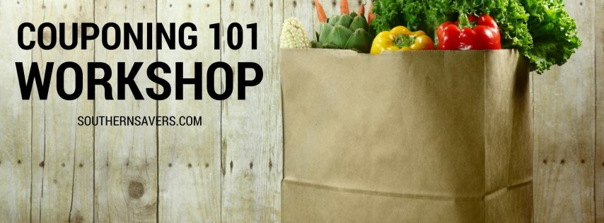 Couponing 101 Workshop: Summerville, SC