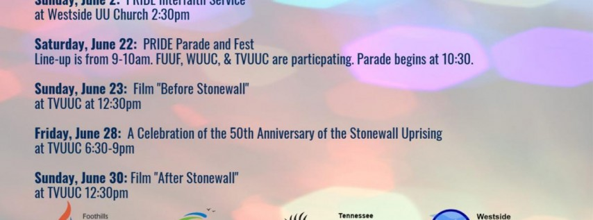 Pride Interfaith Service