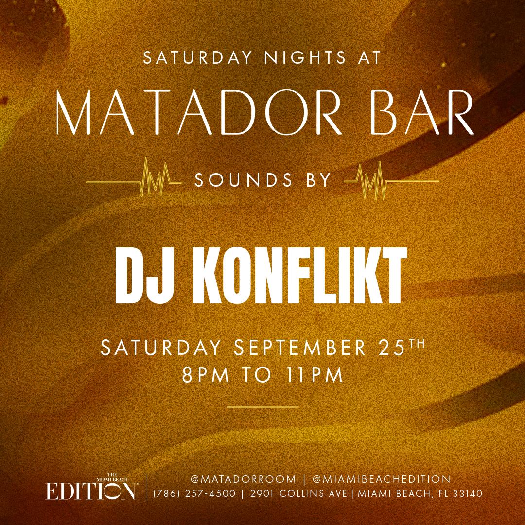Saturday Night at Matador Bar