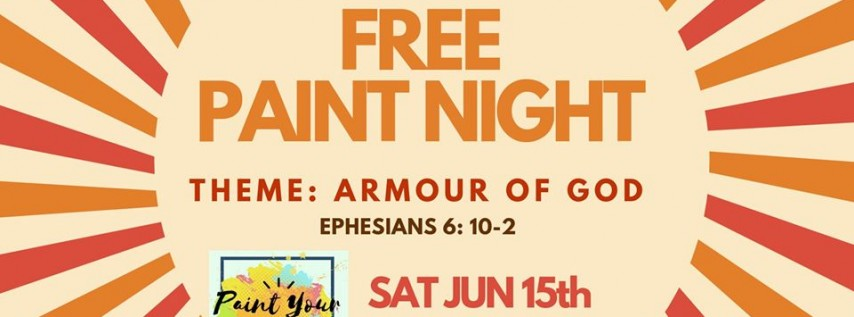 June's FREE Paint Night- Paint Your Blessings
