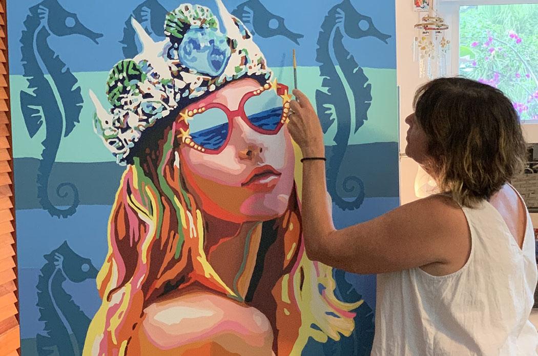 Paint on Canvas: An Artist Talk