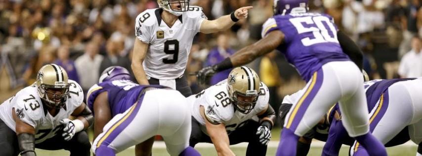 Saints vs Minnesota Vikings Preseason New Orleans Watch Party
