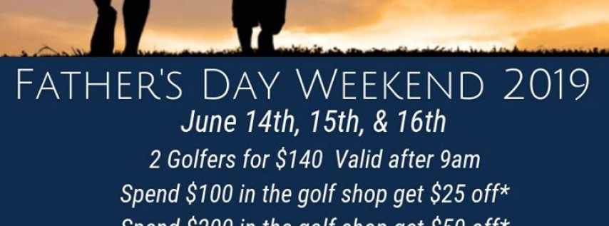 Father's Day Weekend at Bay Point Golf Club