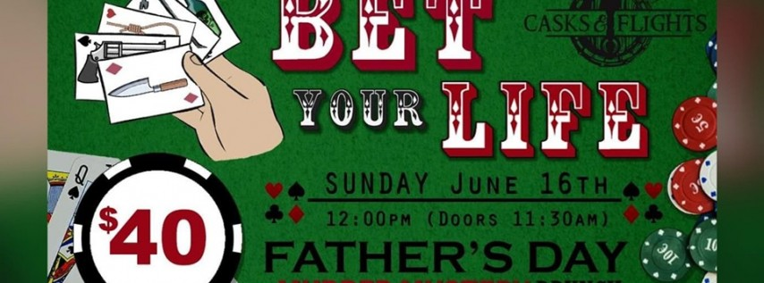 'Bet Your Life' Murder Mystery Father's Day Brunch