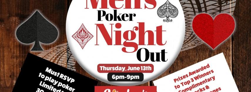 Men's Poker Night Out