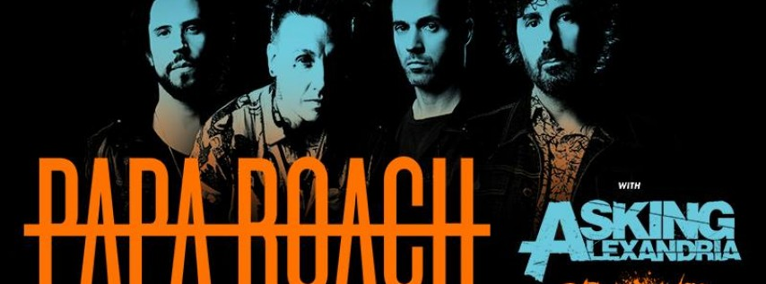 Papa Roach: Who do you Trust? Tour