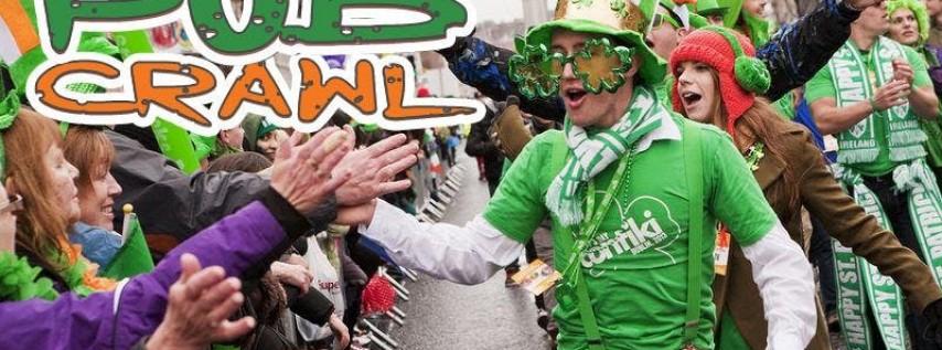 Hoboken Luck of the Irish St Paddy's Weekend Pub Crawl 2020