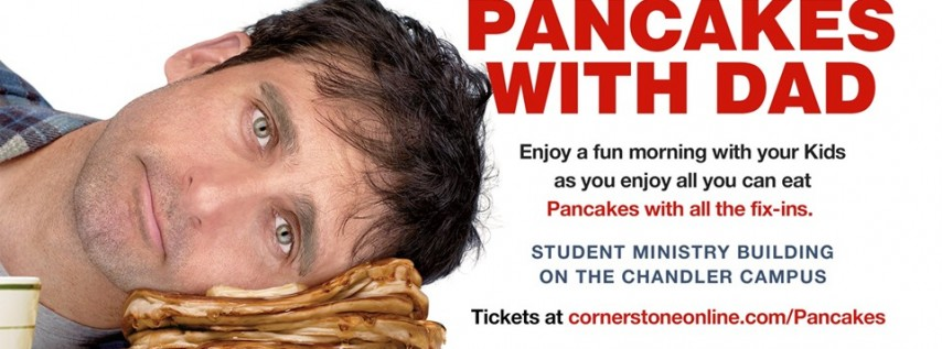 Pancakes with Dad