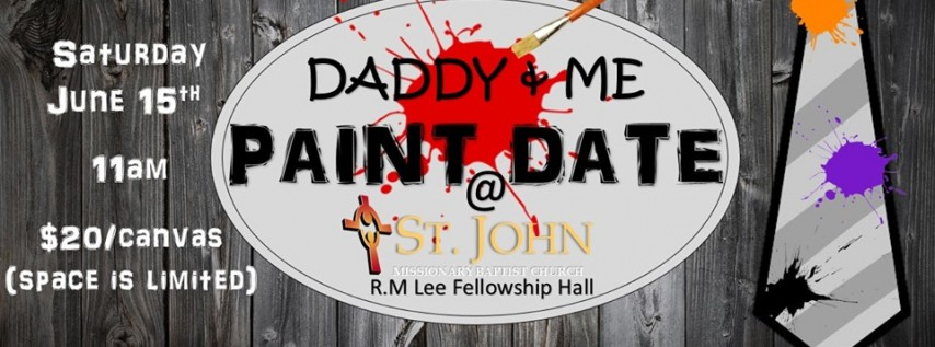 Daddy & Me Paint Date