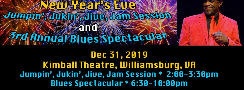 Early Bird: Jumpin', Jukin', Jive, Jam & Blues Spectacular Combo Ticket