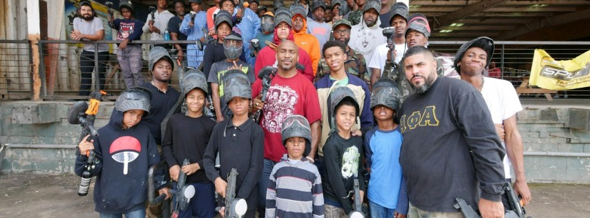 Fathers Day Paintball