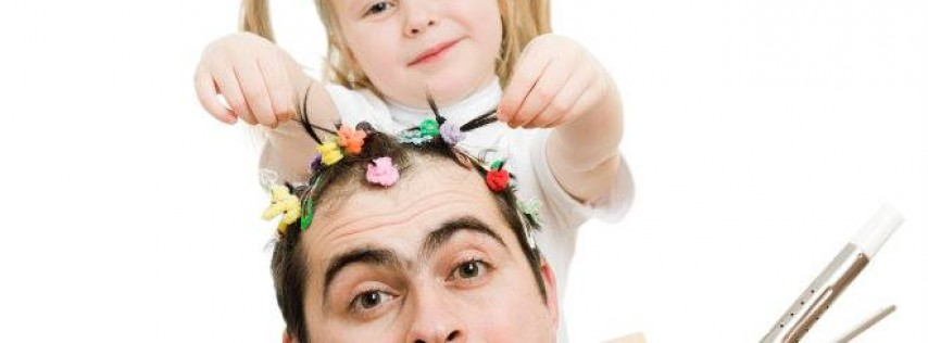 Father & Daughter Hair Styling