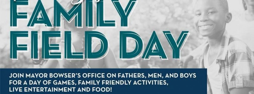 'Father's Day' Family Field Day