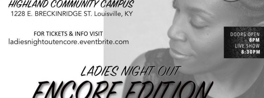 Ladies Night Out - Encore Edition