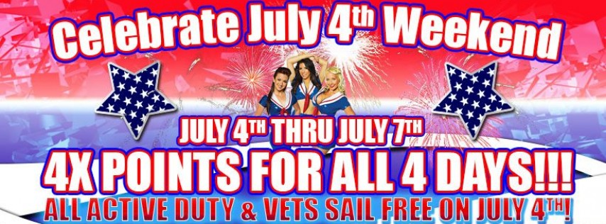 Celebrate July 4th Weekend with Victory Casino
