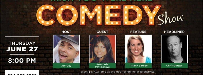 Stand Up Comedy Night at Kelly Brothers June 27th!