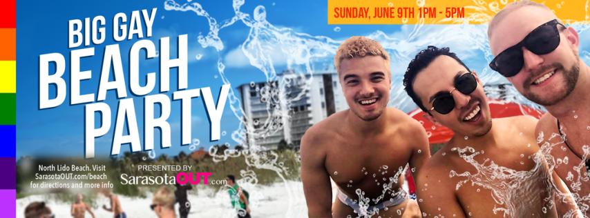Big Gay Beach Party