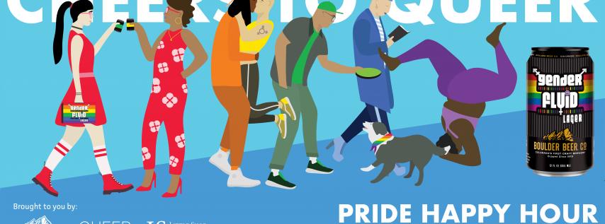 Cheers to Queer! Queer Business Alliance Pride Happy Hour w/Boulder Beer Co