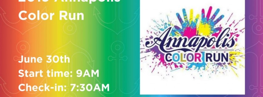 2019 Annapolis Color Run