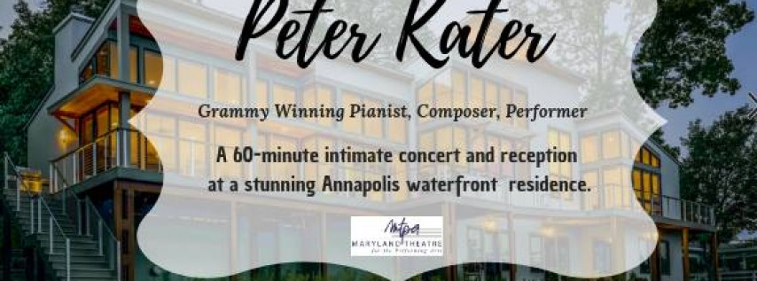 Grammy Winning Pianist: Peter Kater in Concert
