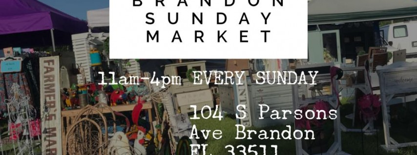 Brandon Sunday Market Fall Kick Off