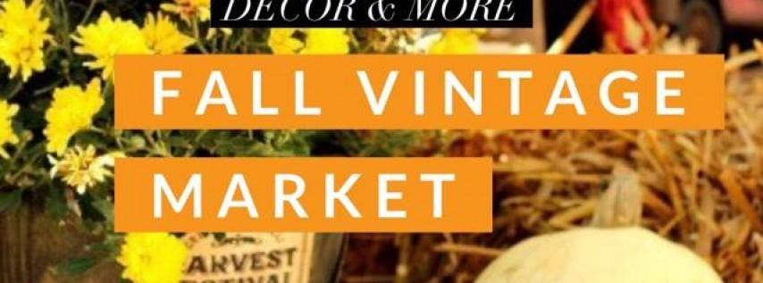 Fall Vintage Market