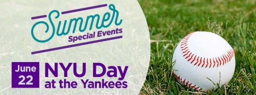 NYU Day at the Yankees