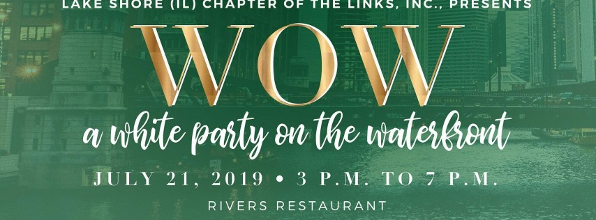 WOW - A WHITE PARTY ON THE WATERFRONT