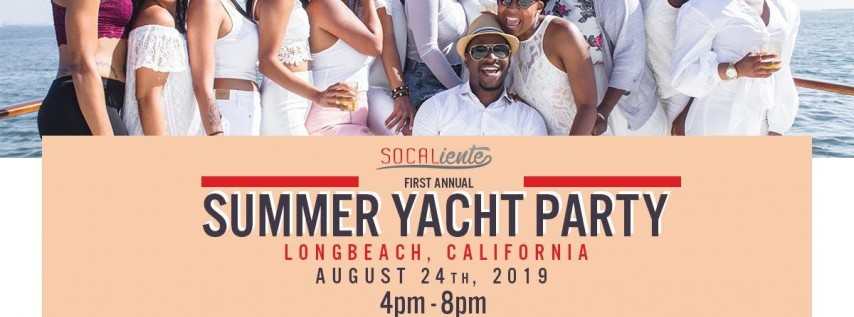 SoCaliente Summer Yacht Party