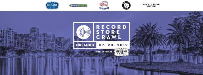 Orlando Record Store Crawl