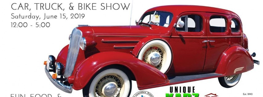 FATHERS DAY WEEKEND - CAR, TRUCK, & BIKE SHOW
