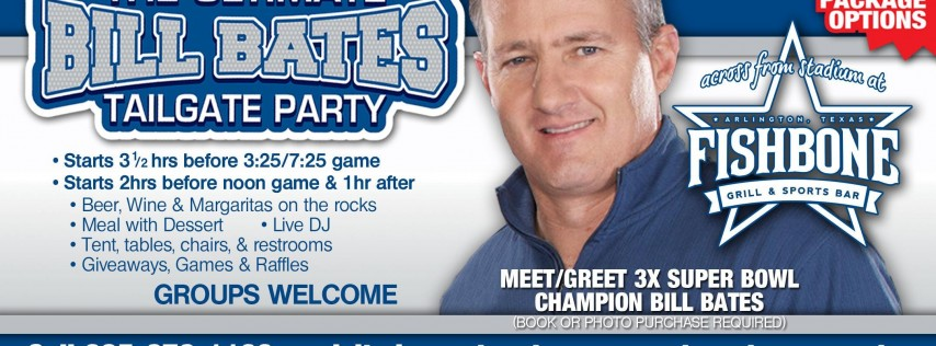 Fun Town RV Presents the Ultimate Bill Bates Tailgate Party-Cowboys v BILLS