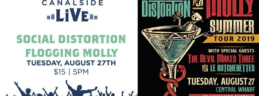 Social Distortion, Flogging Molly at Canalside.