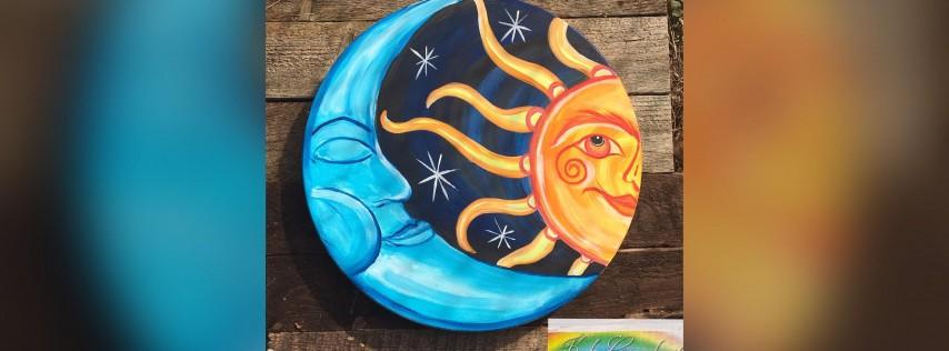 Sun & Moon: Pasadena, Bella Napoli with Artist Katie Detrich!