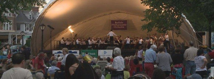 Elmwood Village Summer Concert Series with the BPO