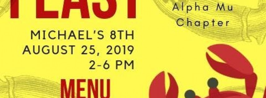 Alpha Mu Annual Crab Feast 2019
