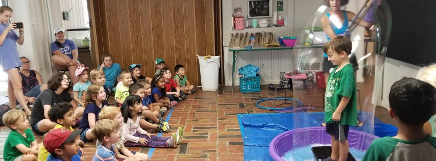 Free First Saturday - Bubbles!